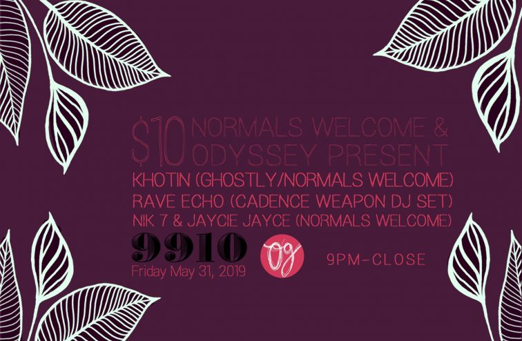 normals welcome poster odyssey