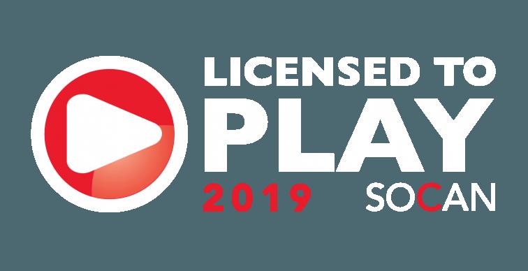 Socan Licensed 2019